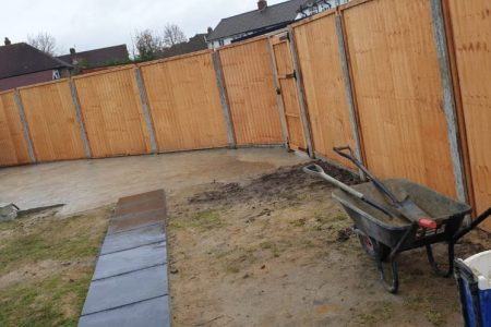 Gardening and Tiling Project